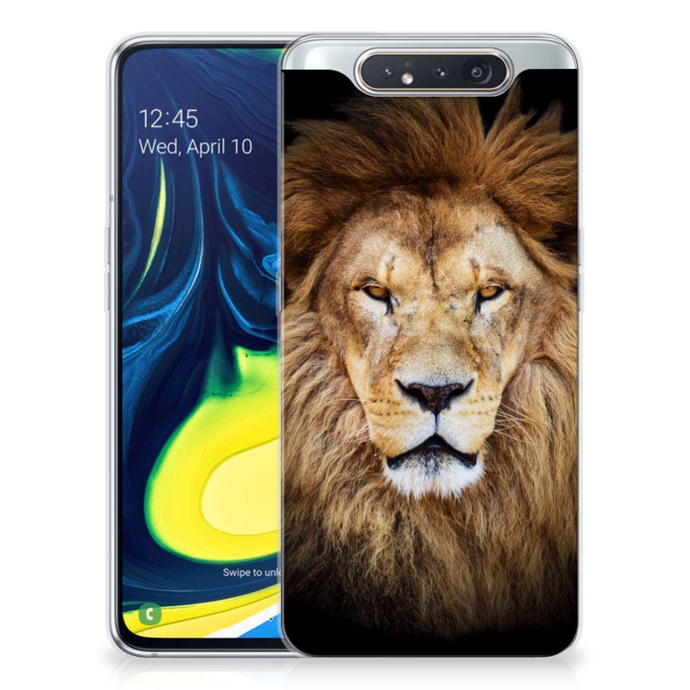 Samsung Galaxy A80 TPU Hoesje Leeuw