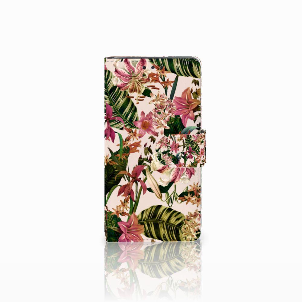 LG Bello 2 Uniek Boekhoesje Flowers