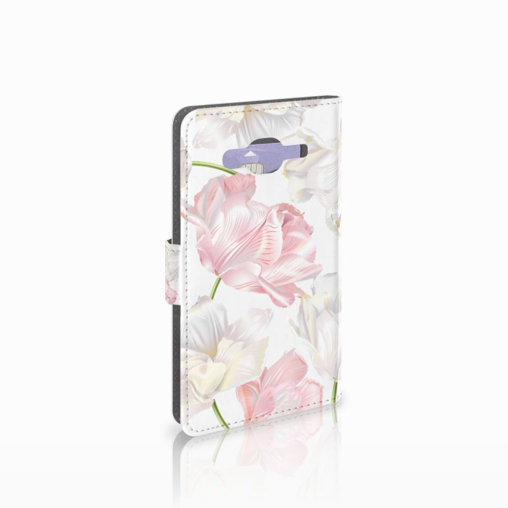 Samsung Galaxy J5 (2015) Boekhoesje Design Lovely Flowers