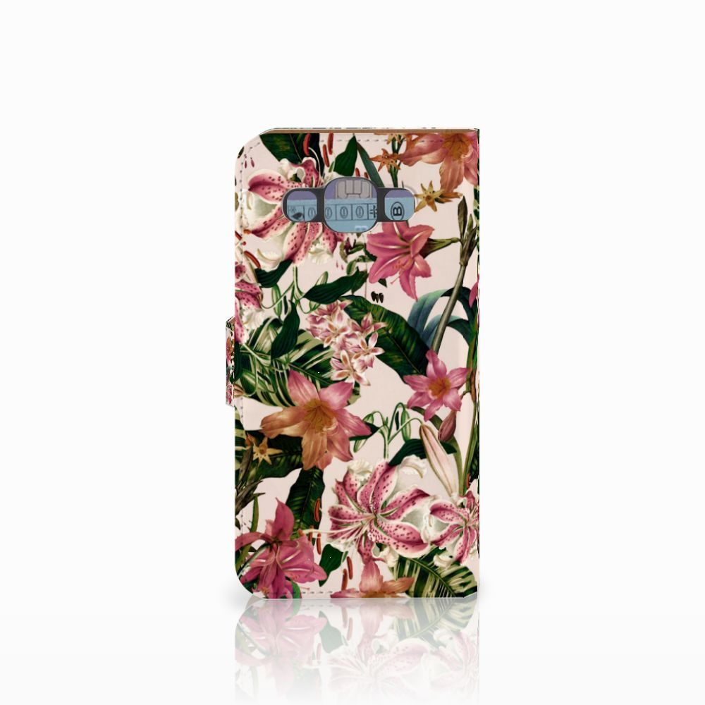 Samsung Galaxy E5 Hoesje Flowers
