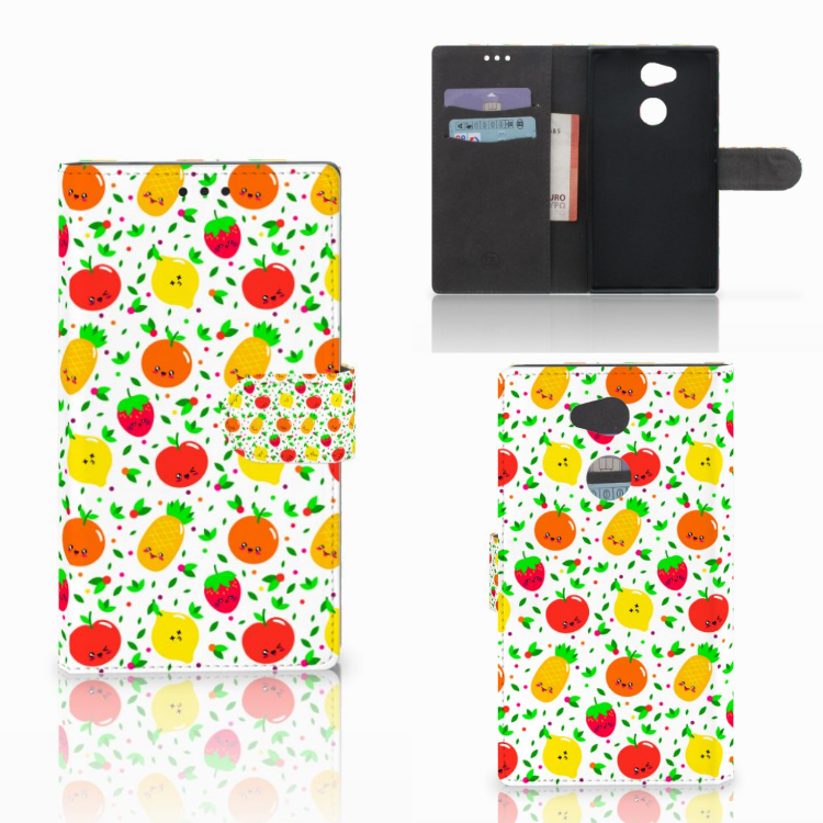 Sony Xperia L2 Book Cover Fruits