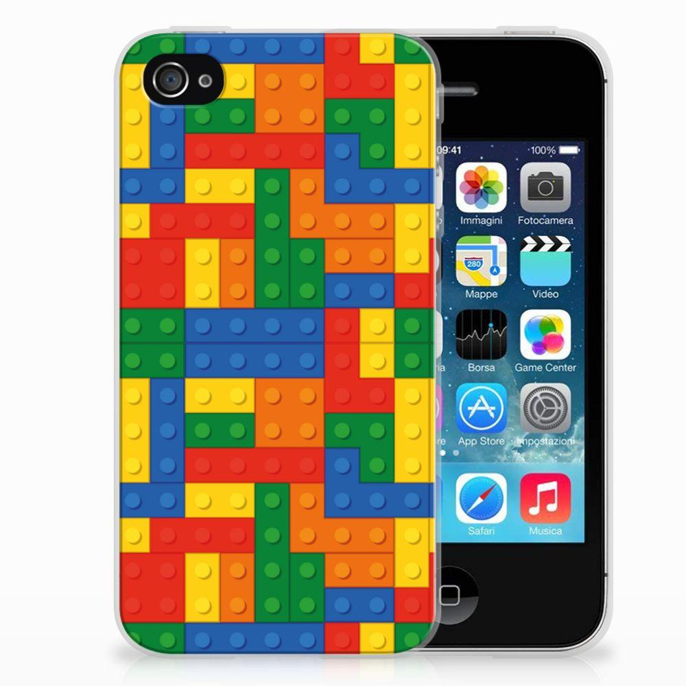 Apple iPhone 4 | 4s TPU bumper Blokken