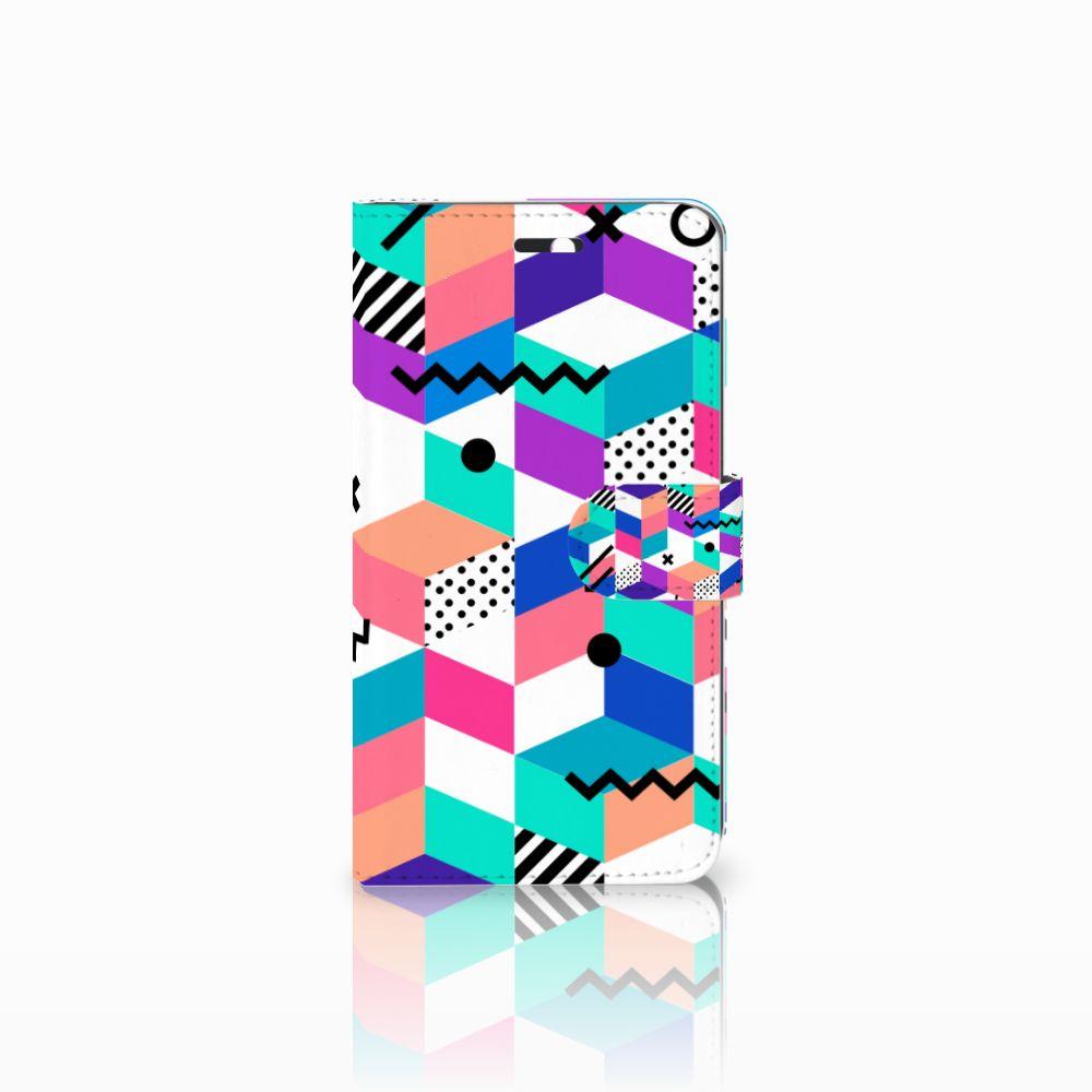 Huawei Y6 II | Honor 5A Bookcase Blokken Kleurrijk