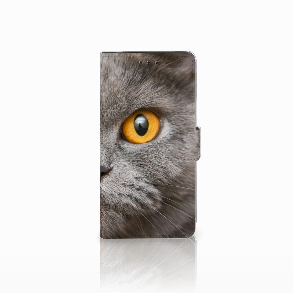 Samsung Galaxy J6 Plus (2018) Uniek Boekhoesje Britse Korthaar