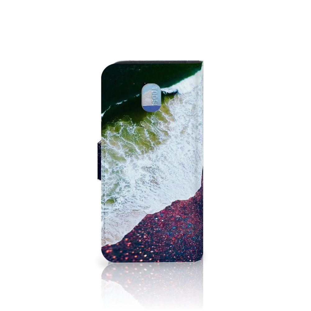 Samsung Galaxy J3 (2018) Bookcase Sea in Space