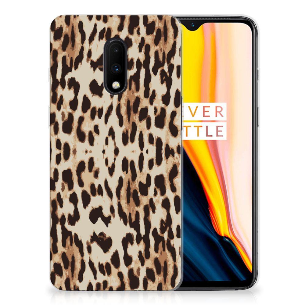 OnePlus 7 TPU Hoesje Leopard