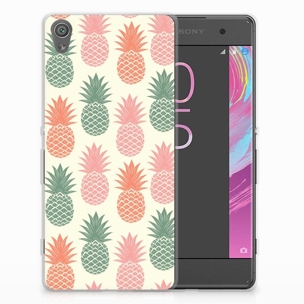 Sony Xperia XA | XA Dual Siliconen Case Ananas