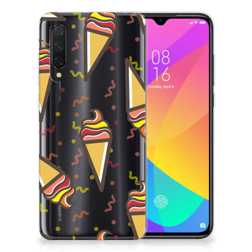 Xiaomi Mi 9 Lite Siliconen Case Icecream