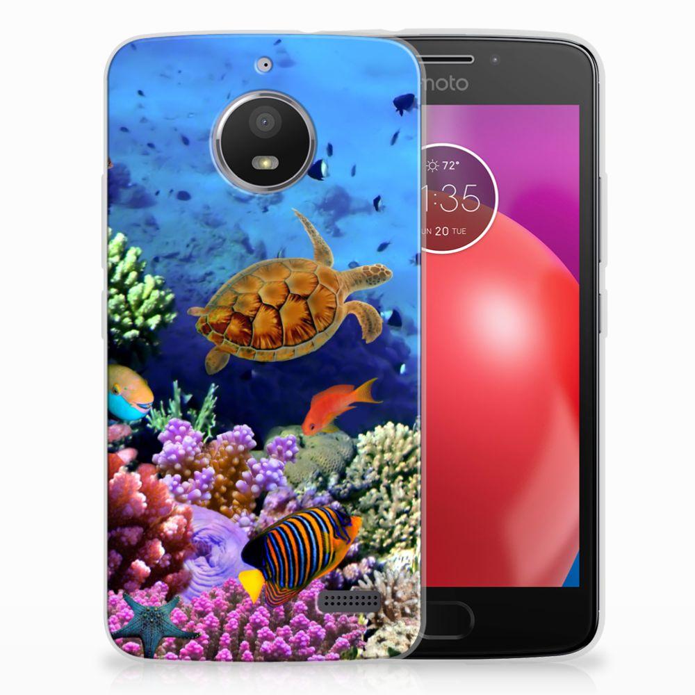 Motorola Moto E4 TPU Hoesje Design Vissen