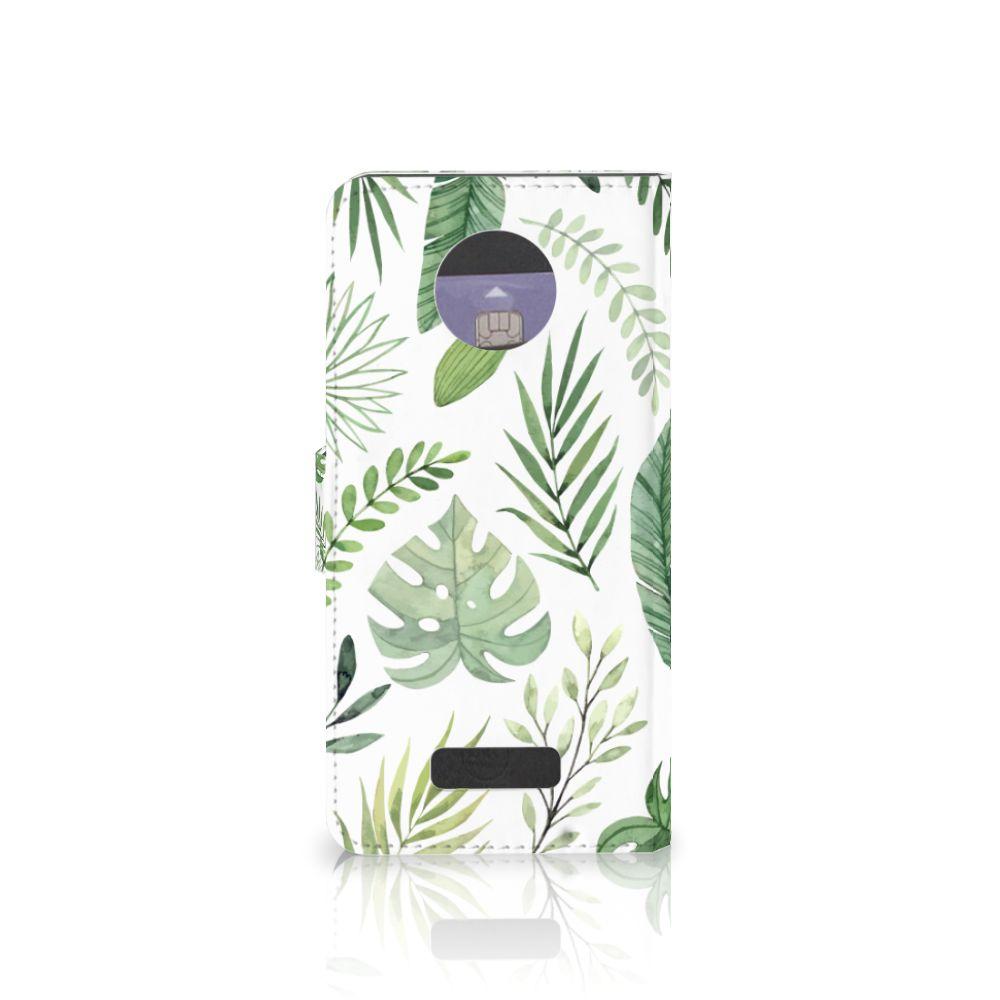 Motorola Moto Z Hoesje Leaves