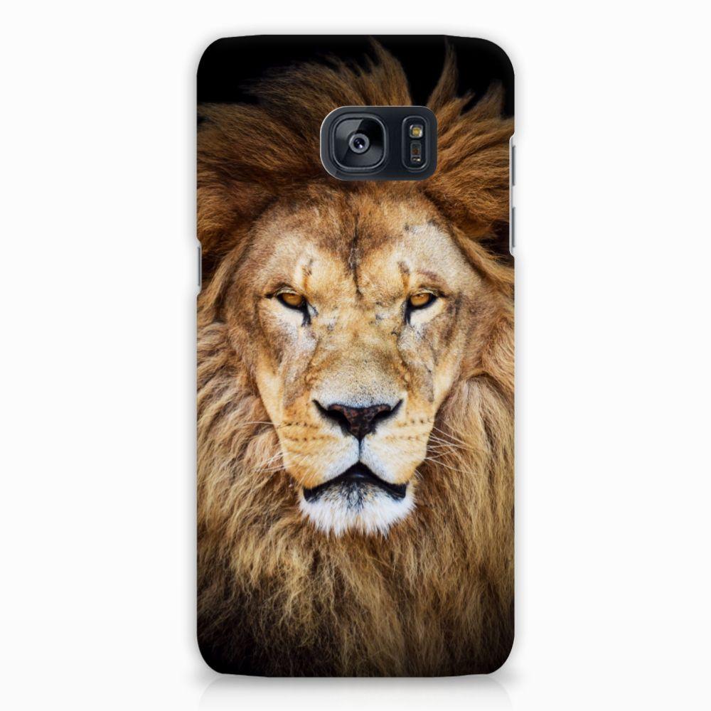 Samsung Galaxy S7 Edge Hardcase Hoesje Design Leeuw