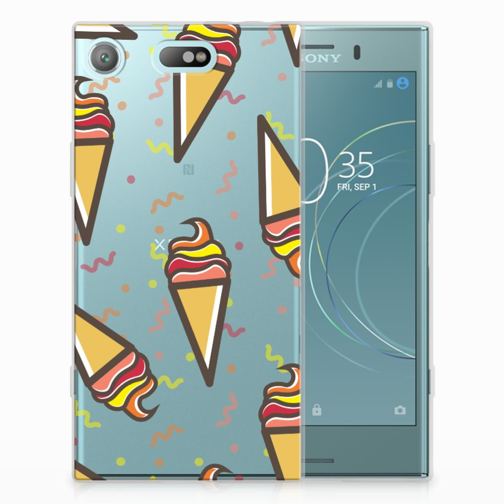 Sony Xperia XZ1 Compact Siliconen Case Icecream
