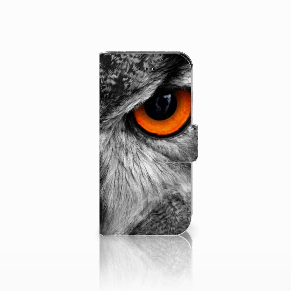 Apple iPhone 6 | 6s Telefoonhoesje met Pasjes Uil