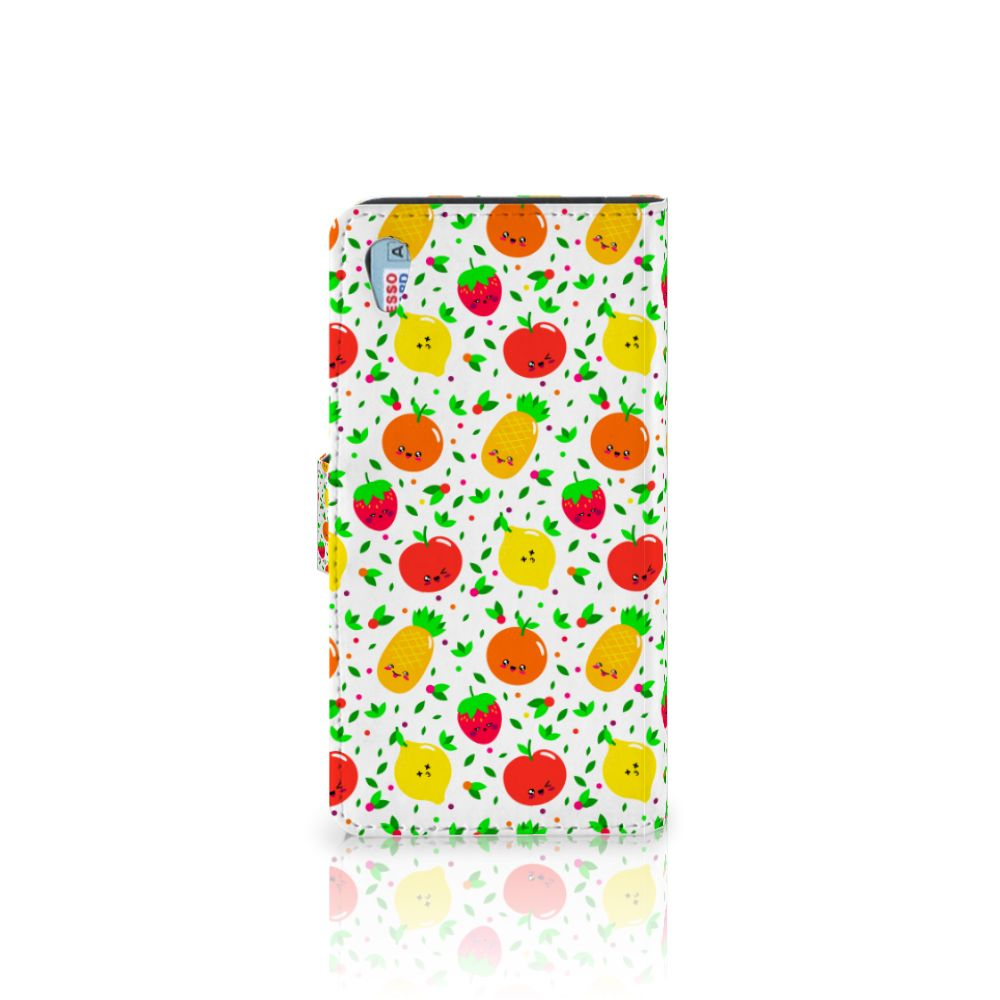 Sony Xperia Z3 Book Cover Fruits