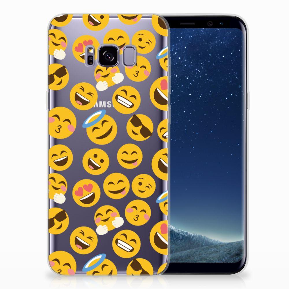 Samsung Galaxy S8 Plus TPU Hoesje Design Emoji