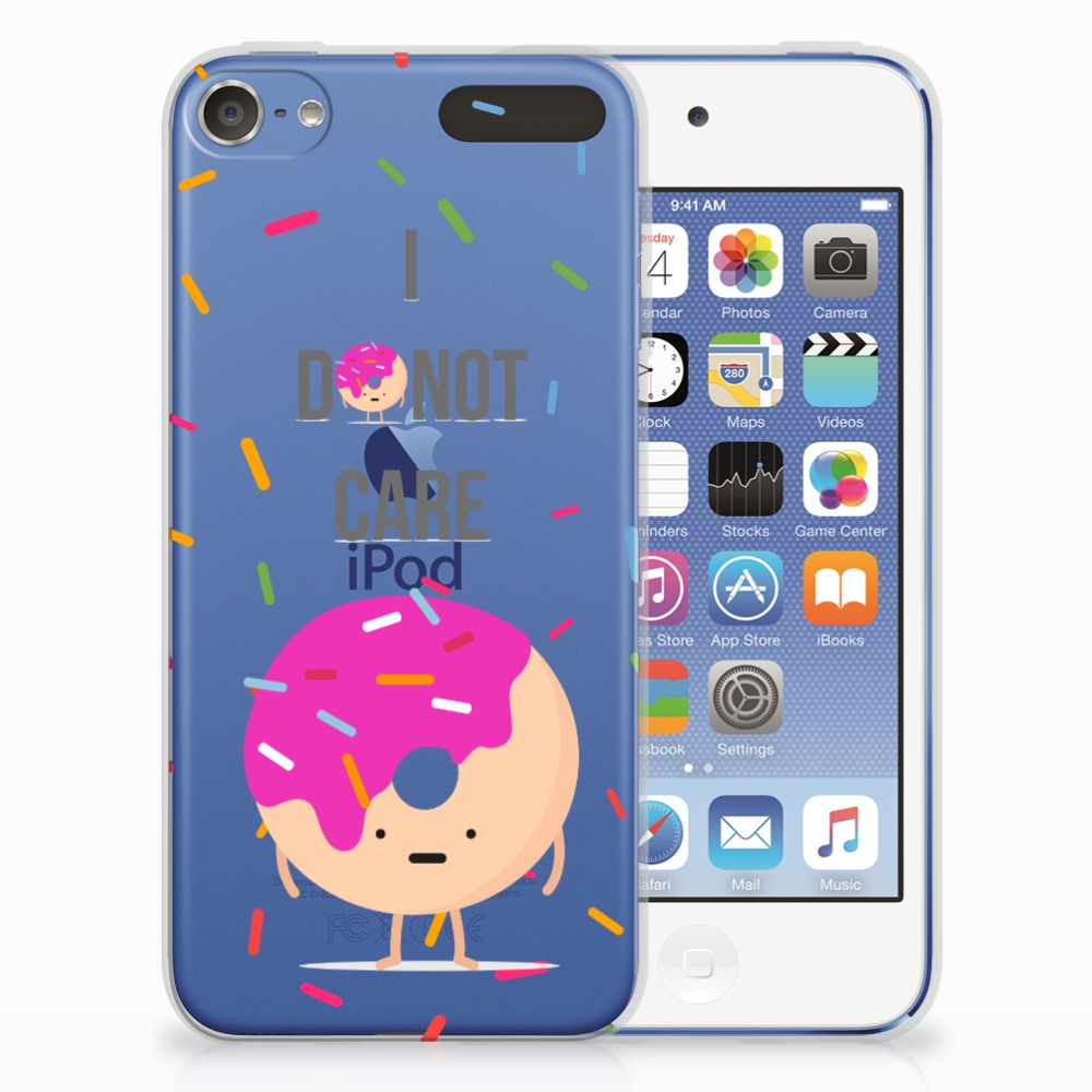 Apple iPod Touch 5 | 6 Siliconen Case Donut Roze
