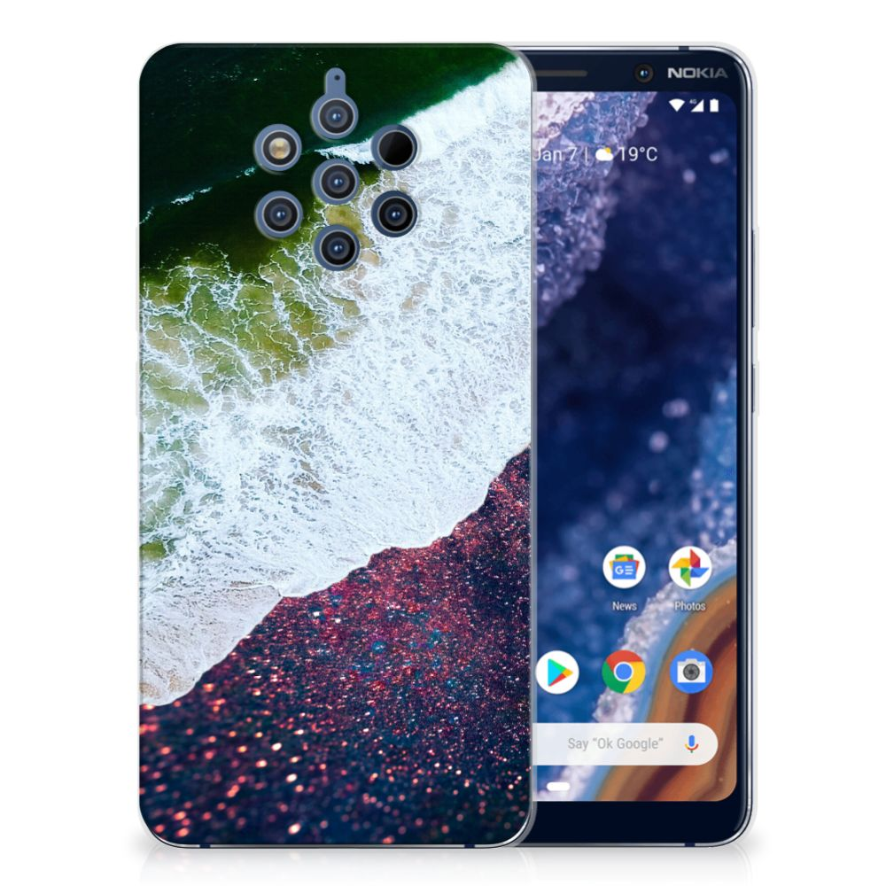 Nokia 9 PureView TPU Hoesje Sea in Space