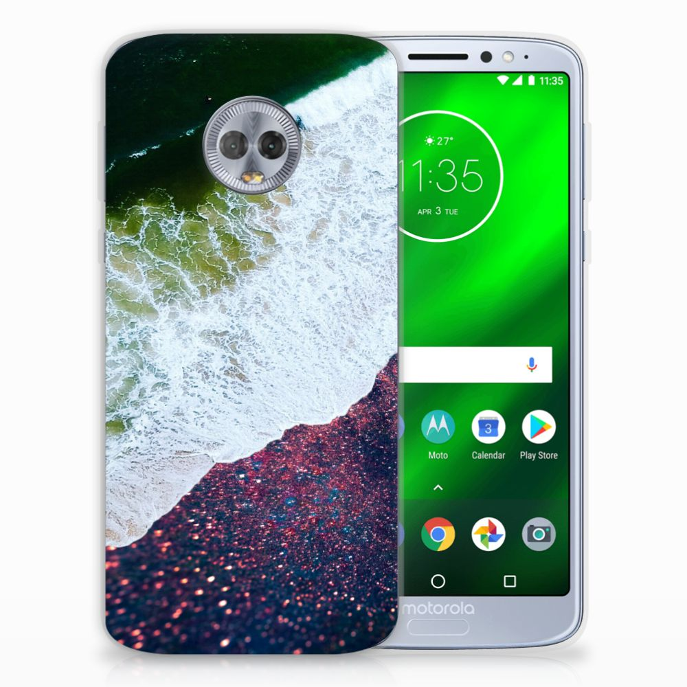 Motorola Moto G6 Plus TPU Hoesje Sea in Space