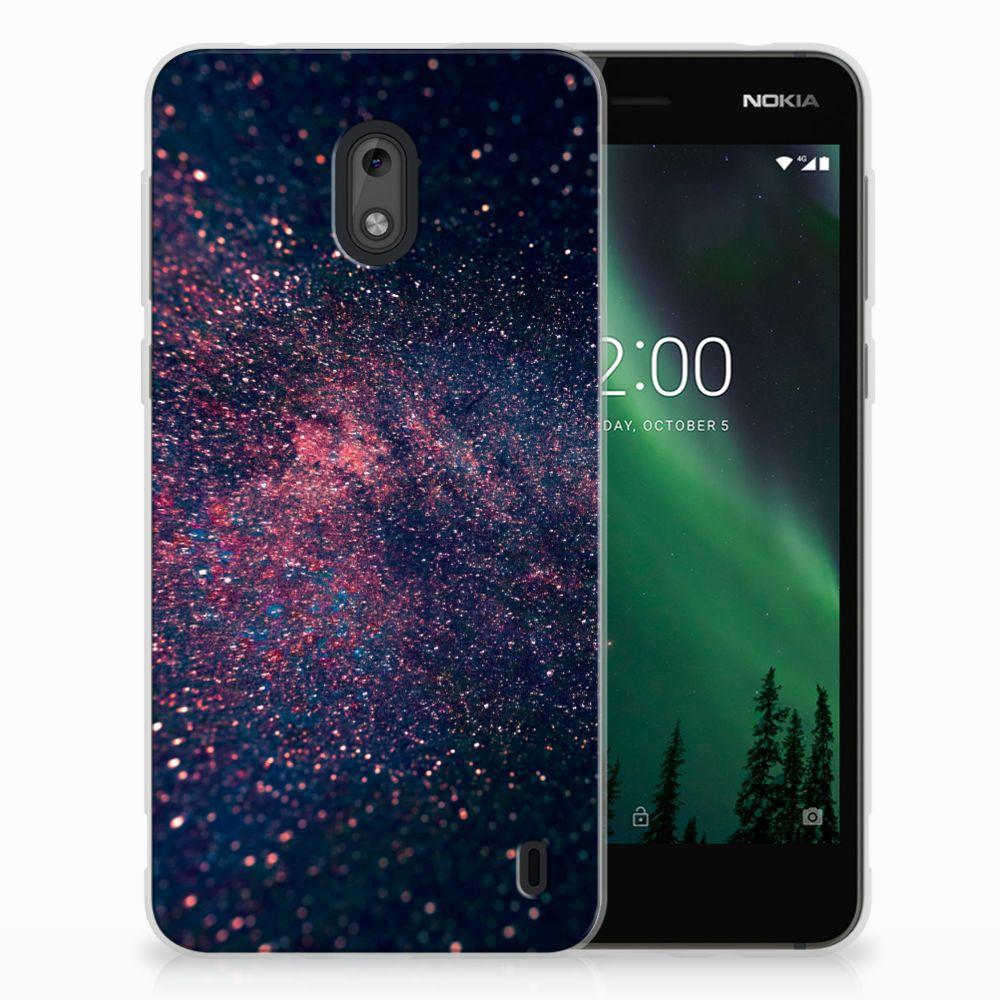 Nokia 2 TPU Hoesje Stars