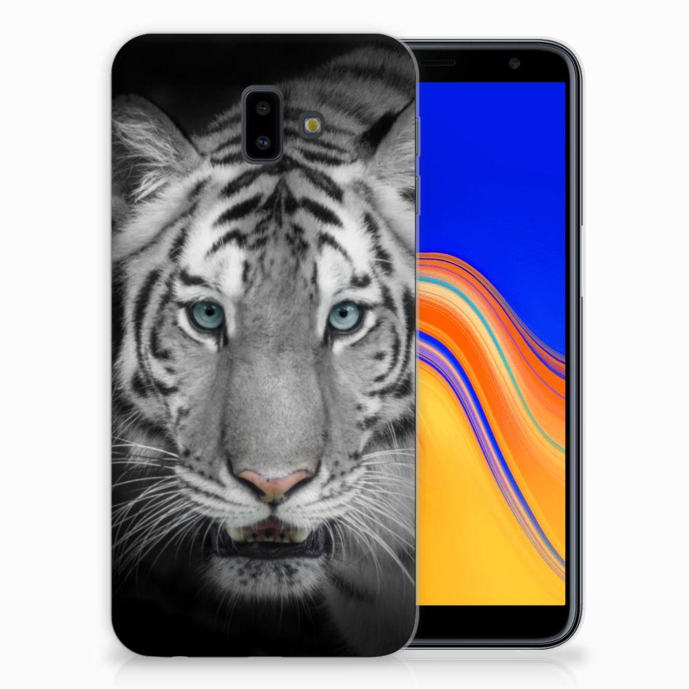 Samsung Galaxy J6 Plus (2018) Leuk Hoesje Tijger