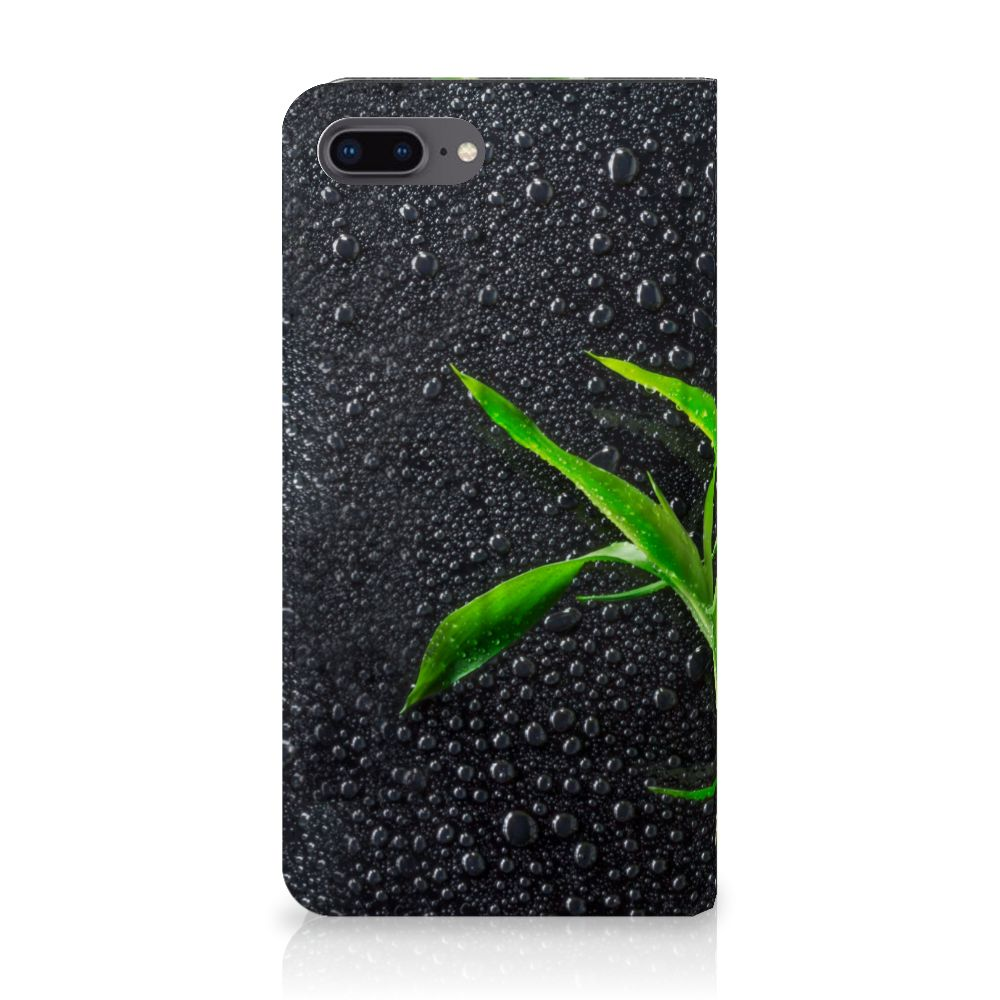Apple iPhone 7 Plus | 8 Plus Standcase Hoesje Design Orchidee