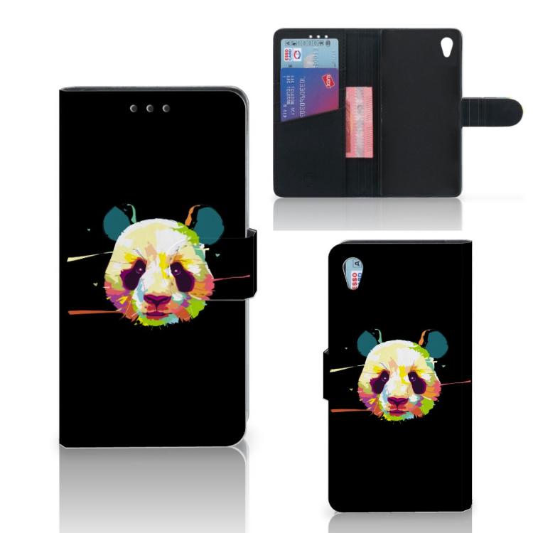 Sony Xperia Z3 Leuke Hoesje Panda Color