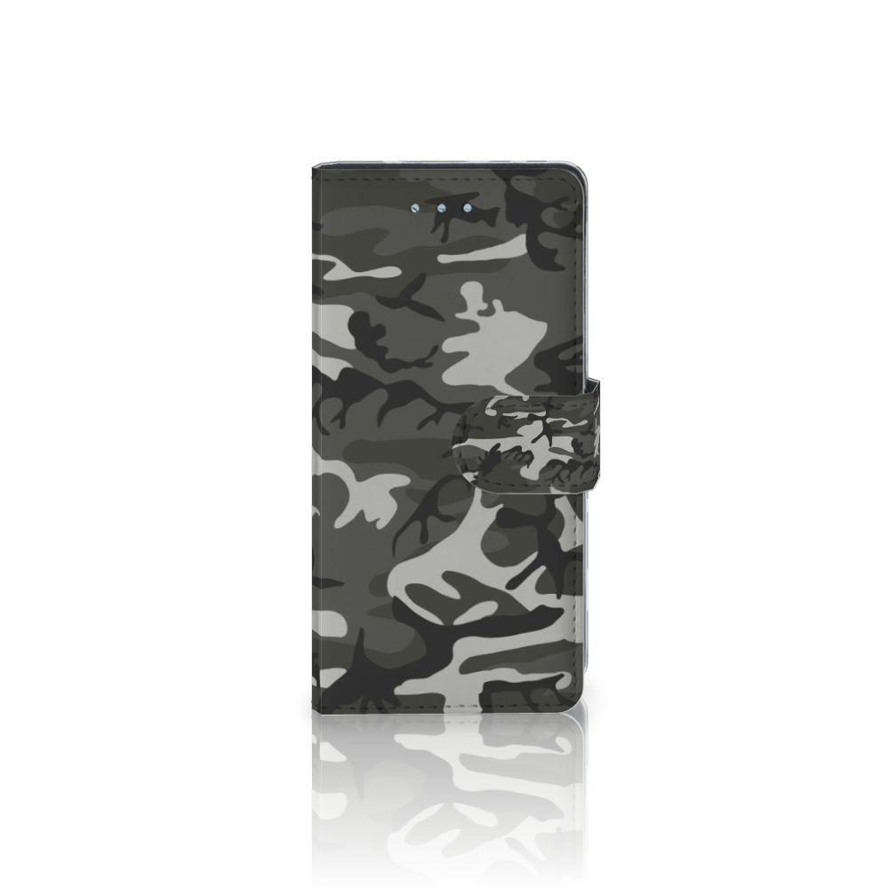 Huawei P9 Lite Uniek Boekhoesje Army Light