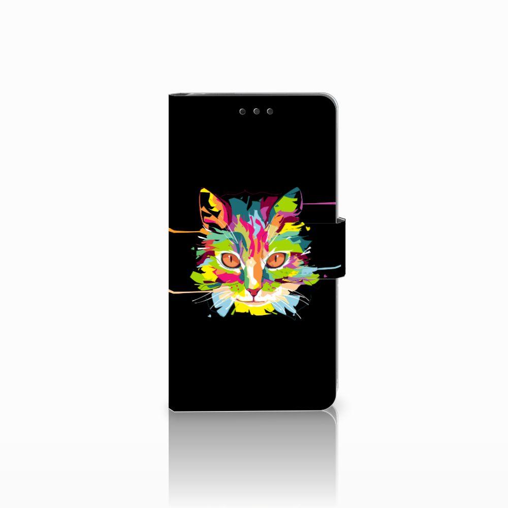 LG G4 Uniek Boekhoesje Cat Color