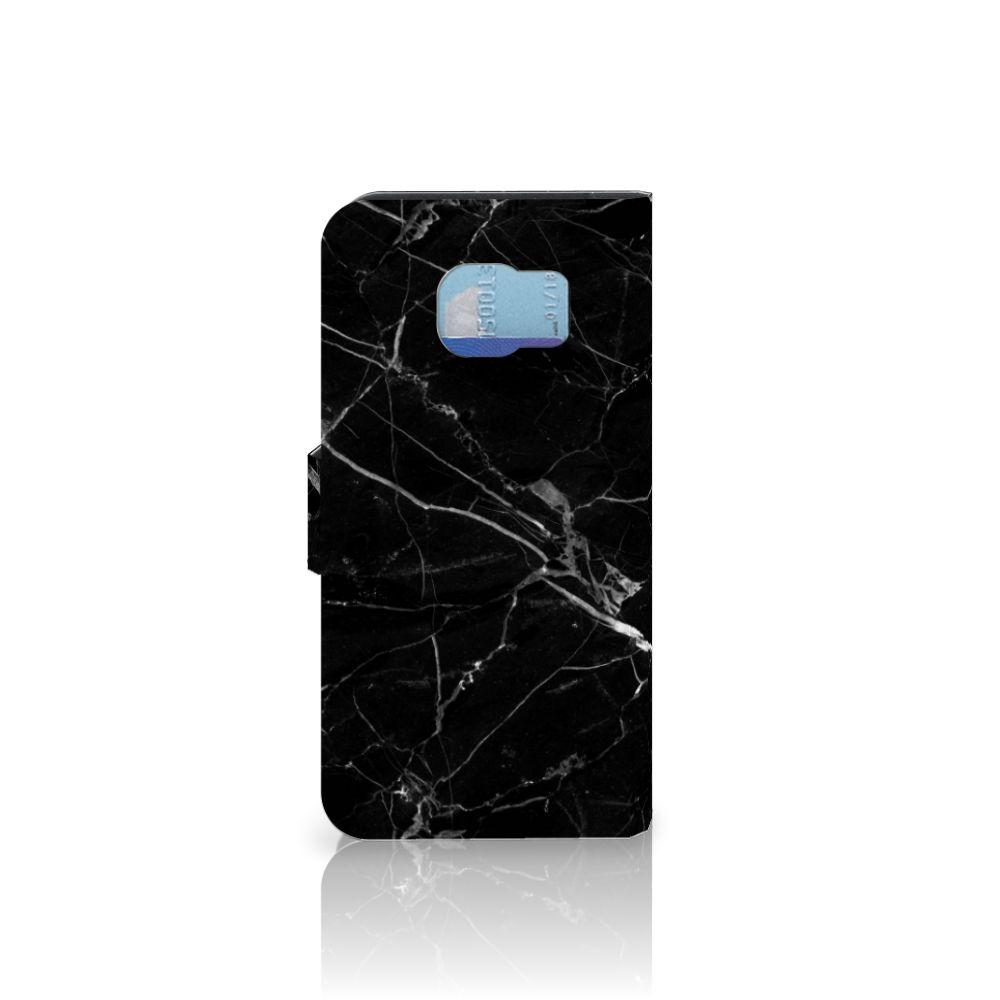 Samsung Galaxy S6 | S6 Duos Bookcase Marmer Zwart