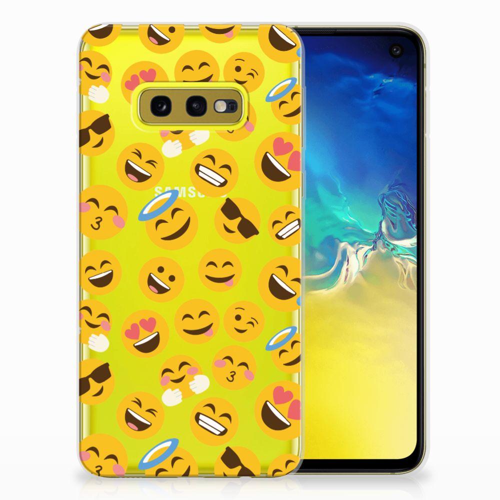 Samsung Galaxy S10e TPU bumper Emoji