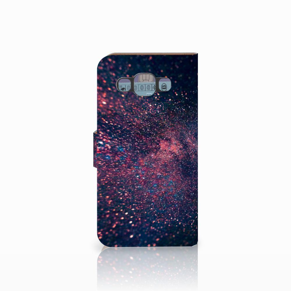 Samsung Galaxy E5 Bookcase Stars