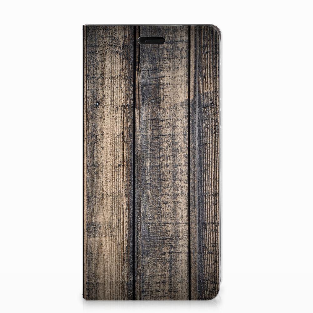Nokia 8 Book Wallet Case Steigerhout