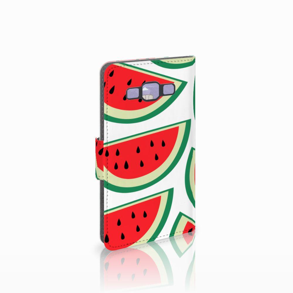 Samsung Galaxy A3 2015 Uniek Boekhoesje Watermelons