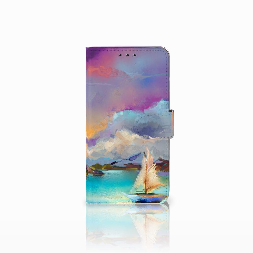 Huawei Honor 6X Uniek Boekhoesje Boat