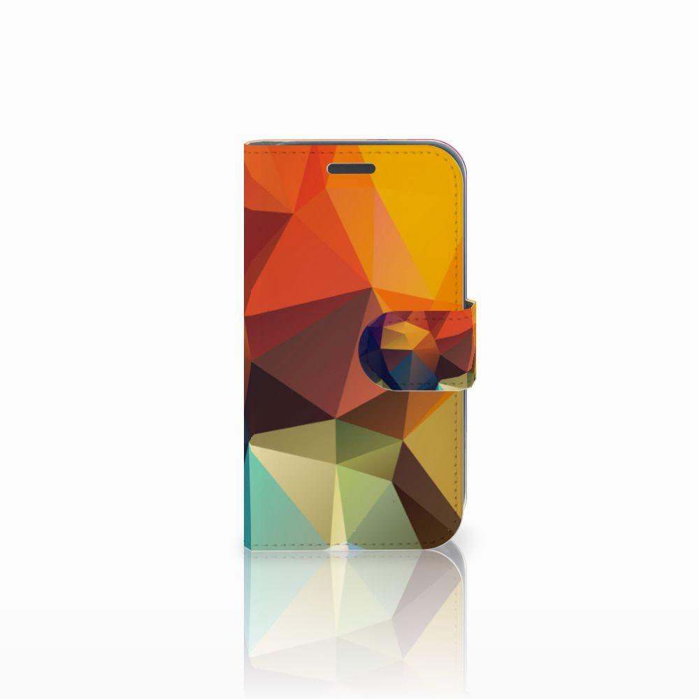 Samsung Galaxy J1 2016 Bookcase Polygon Color