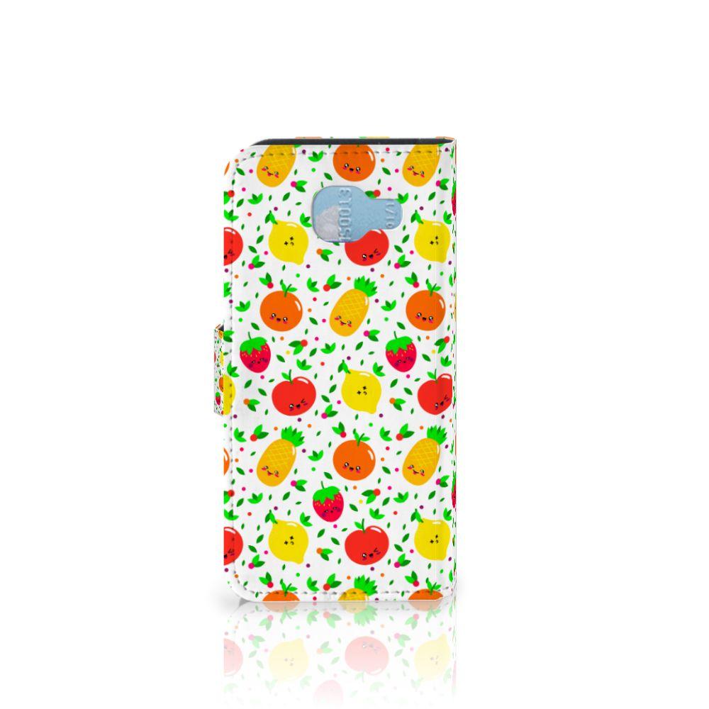 Samsung Galaxy A5 2016 Book Cover Fruits