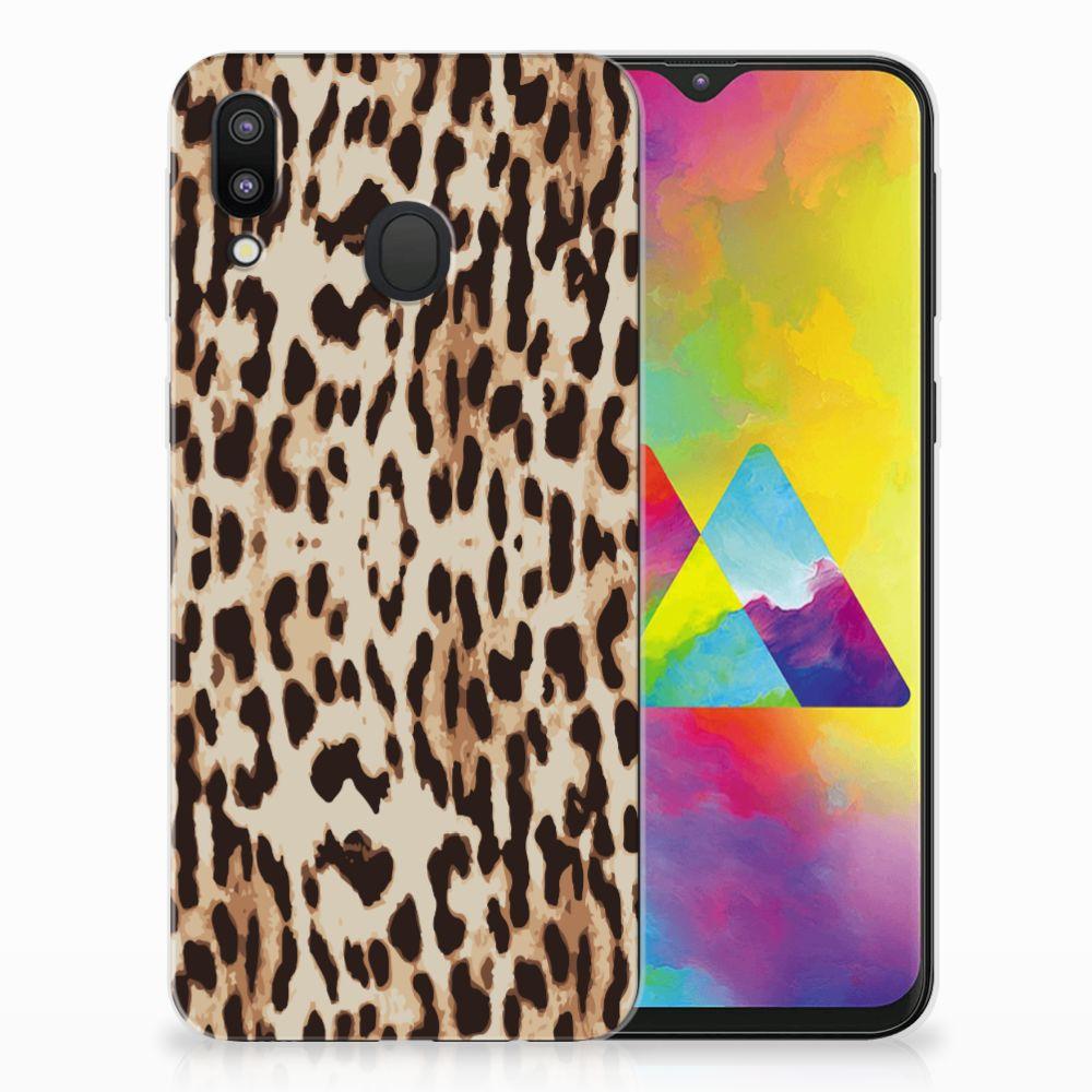Samsung Galaxy M20 (Power) Leuk Hoesje Leopard