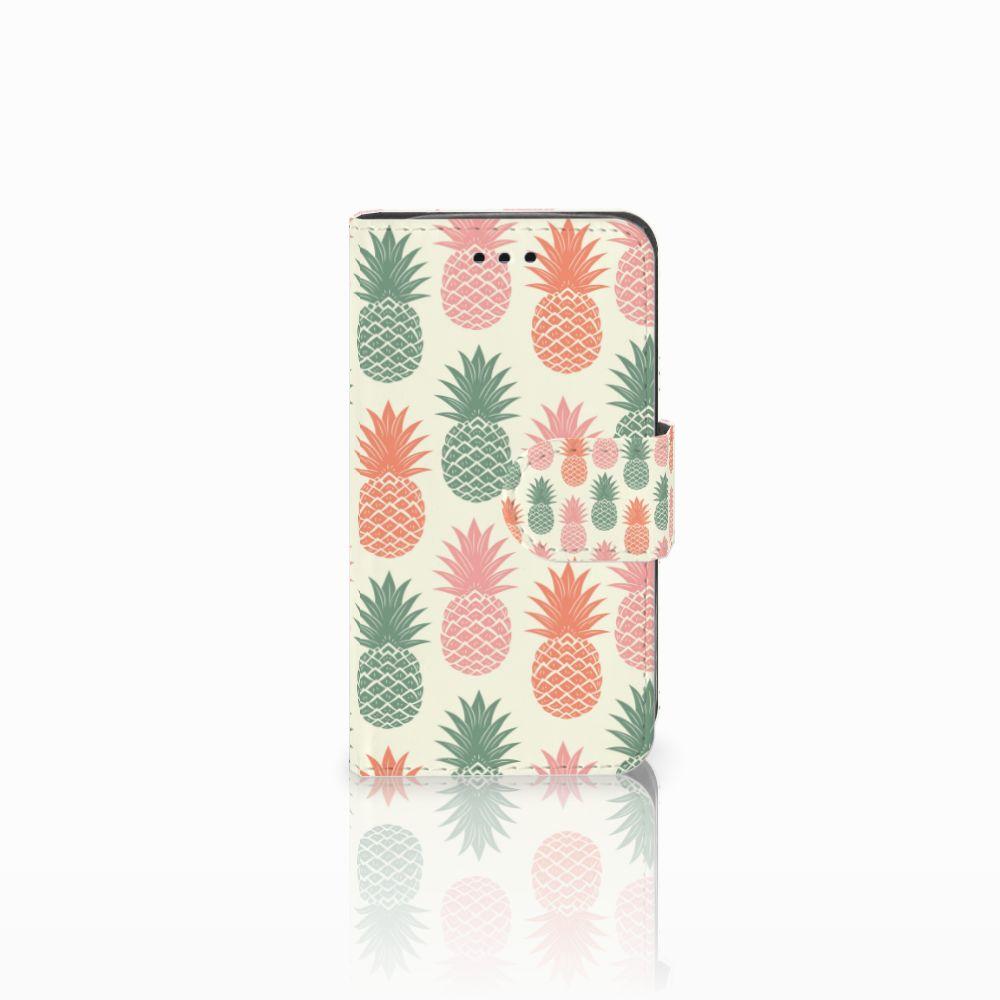 Samsung Galaxy Trend 2 Boekhoesje Design Ananas
