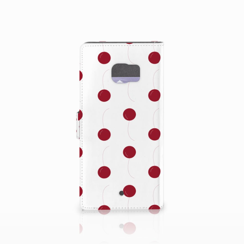 HTC U Ultra Book Cover Cherries