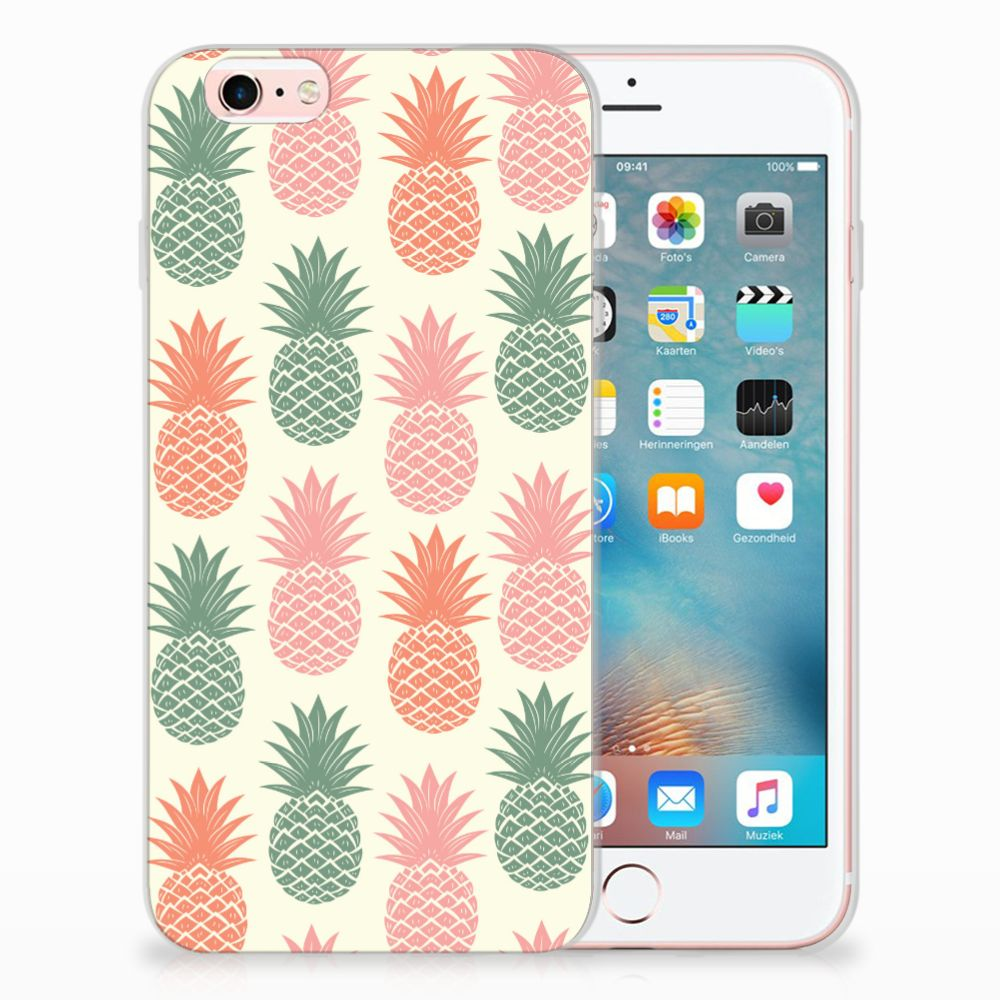 Apple iPhone 6 | 6s TPU Hoesje Design Ananas