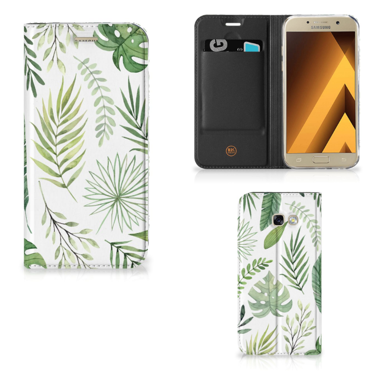 Samsung Galaxy A5 2017 Smart Cover Leaves
