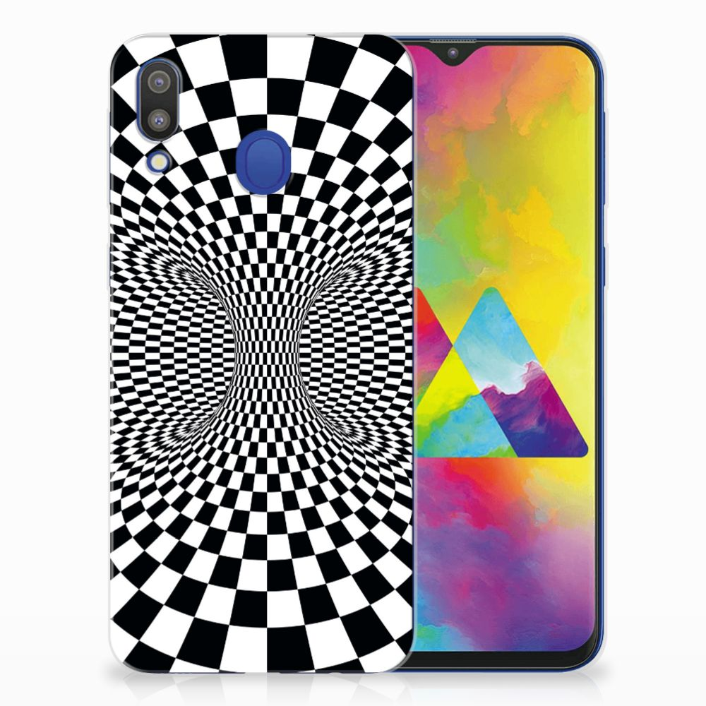 Samsung Galaxy M20 (Power) TPU Hoesje Illusie