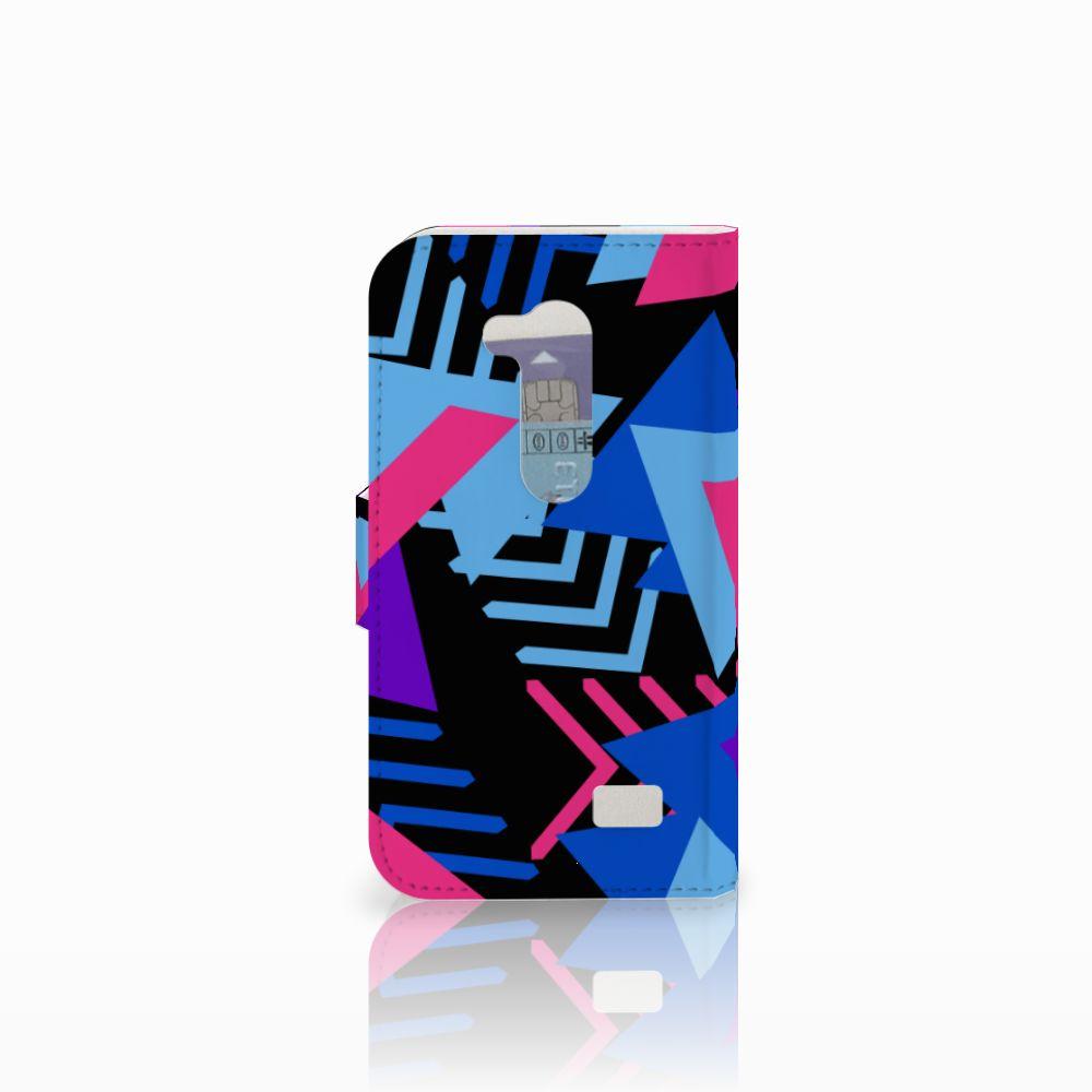 LG L Fino Bookcase Funky Triangle
