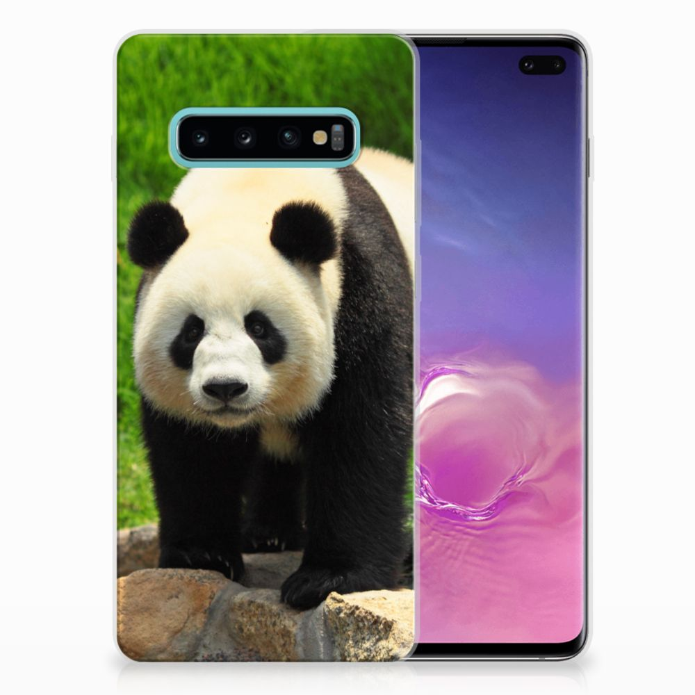 Samsung Galaxy S10 Plus TPU Hoesje Design Panda