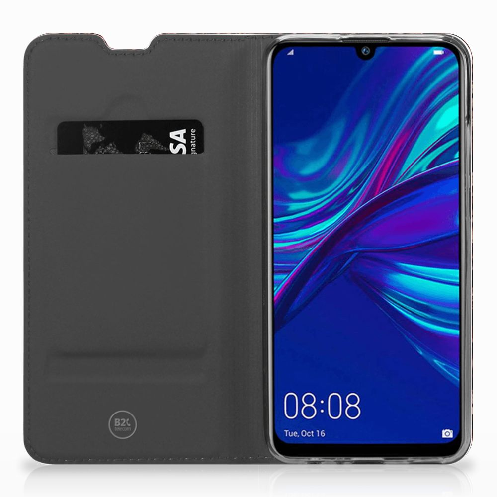 Huawei P Smart (2019) Flip Style Cover Koffiebonen