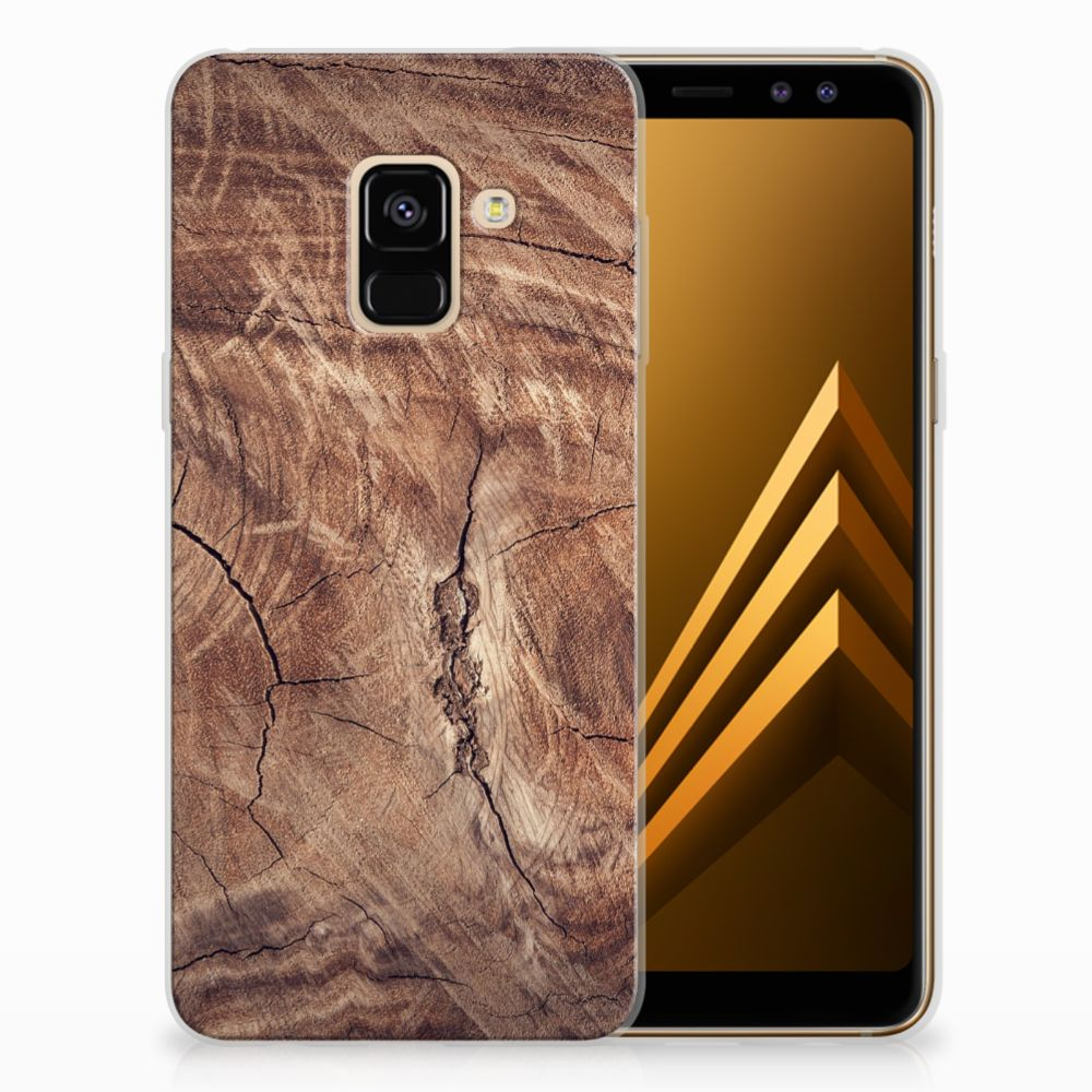 Samsung Galaxy A8 (2018) TPU Hoesje Design Tree Trunk