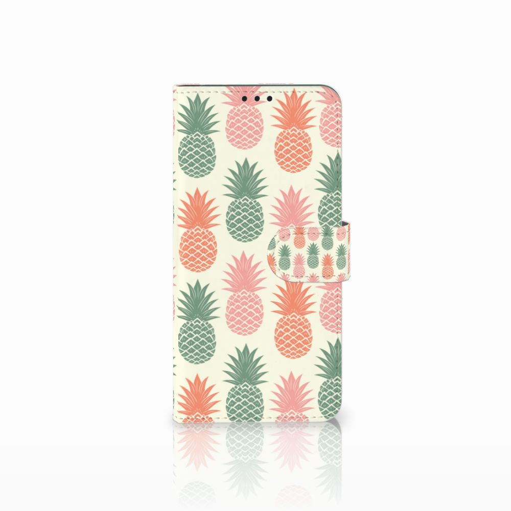 Huawei P Smart Plus Boekhoesje Design Ananas