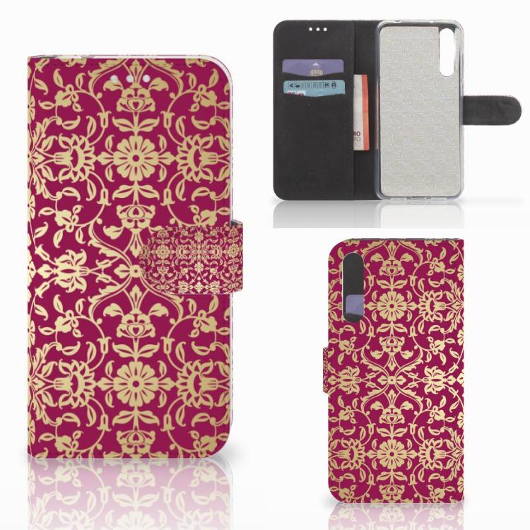 Wallet Case Huawei P20 Pro Barok Pink