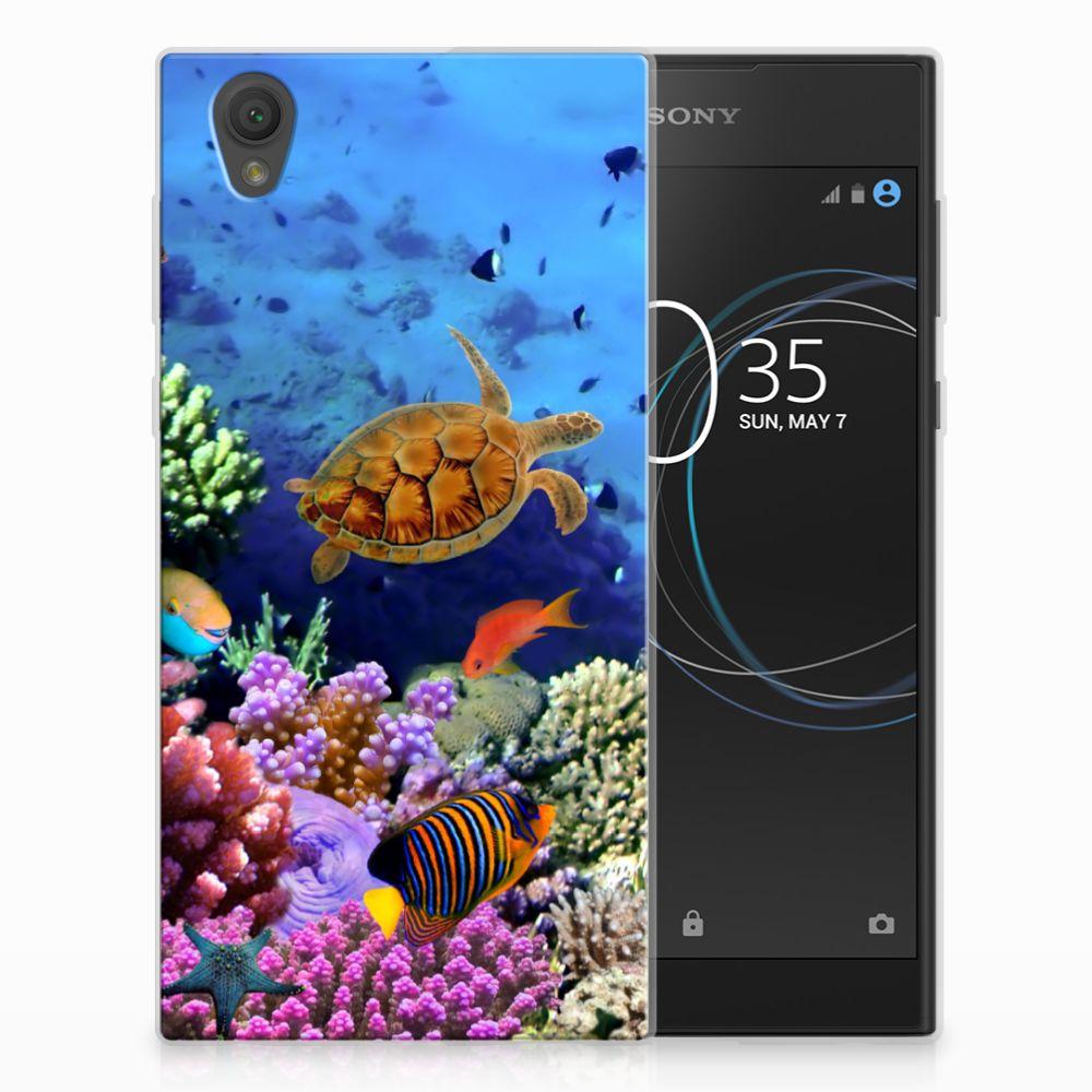 Sony Xperia L1 TPU Hoesje Design Vissen
