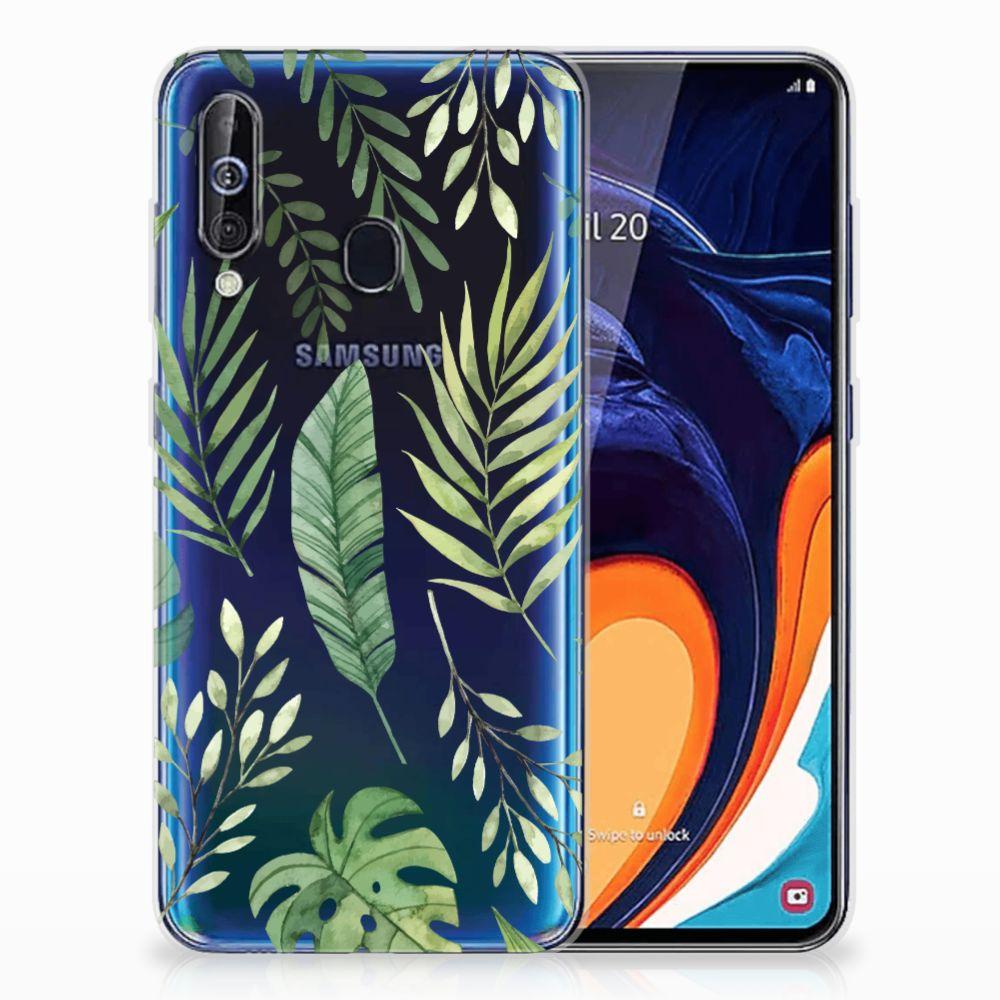 Samsung Galaxy A60 TPU Case Leaves